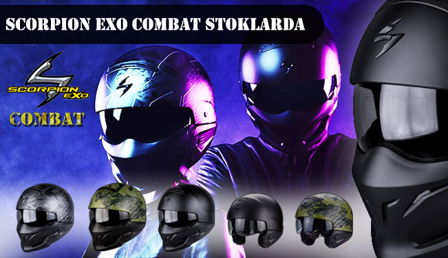 scorpion exo combat kask stoklarda. Black Bedroom Furniture Sets. Home Design Ideas