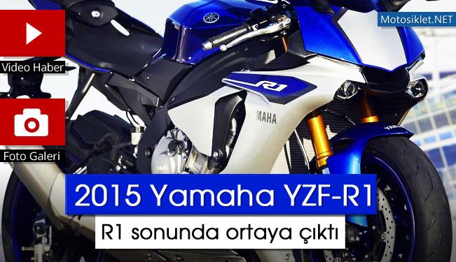 2015 Yamaha R1 Yzf R1 Sonunda Ortaya çıktı Fotovideo