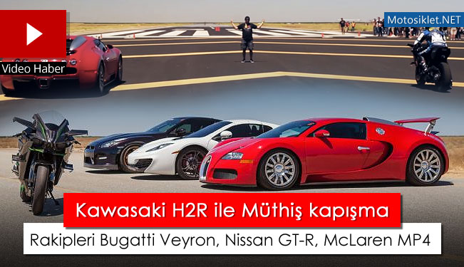 kawasaki h2r vs bugatti veyron nissan gt r mclaren mp4. Black Bedroom Furniture Sets. Home Design Ideas
