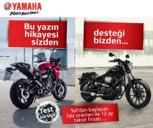 Bu Yazın Hikayesi Sizden, Desteği Bizden - Yamaha Motor Türkiye