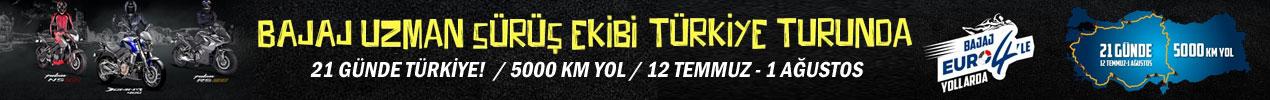 Bajaj Uzman Sürüş Ekibi Türkiye Turunda