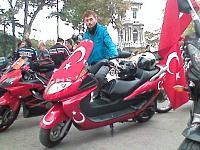 motosiklet sevdası