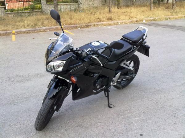 2009 Black CBR 125 R