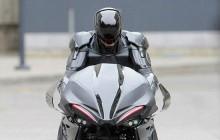 Yeni Robocop Filmi için Hazırlanan Motorsiklet