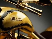 Altın Kaplama Motosiklet - 650.000€ - Lauge Jensen