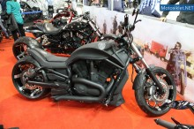TT Custom Choppers Standı - Motosiklet Fuarı 2014