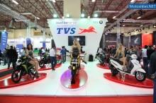 TVS Standı - Motosiklet Fuarı 2014