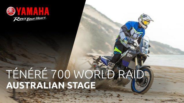 Yamaha Tenere 700 World Raid Tanıtım videosu