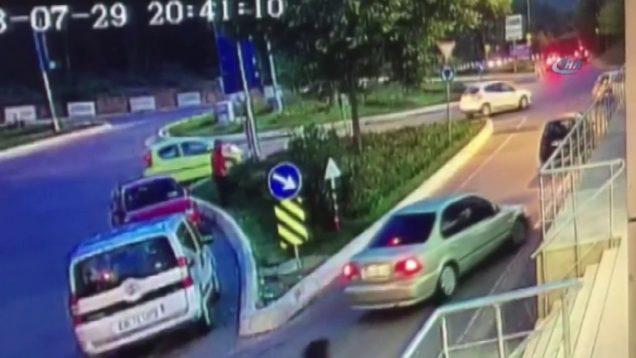 İstanbul'da feci ATV kazası kamerada