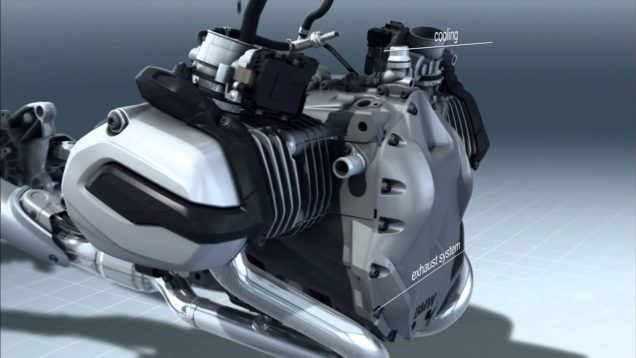 BMW R 1200 GS Boxer motor teknolojisi nasıl çalışır