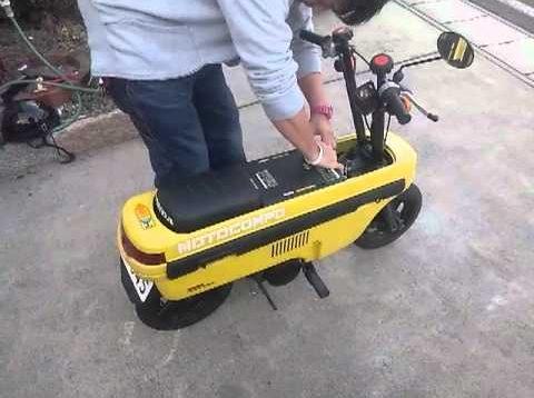 Honda'nın katlanır motosikleti