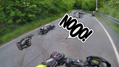 Virajı alamayan motorcu ve sonrasında olanlar