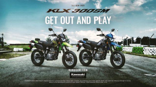 2021 Kawasaki KLX300SM Supermoto